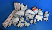 Экструзионная линия для трехслойных ПП бесшумной трубы для канализации