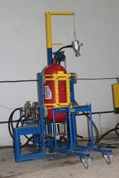 Оборудование для опрессовки,  пневмо- и гидроиспытаний газовых баллонов